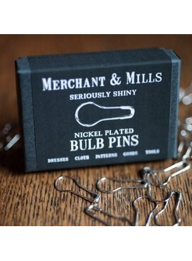 Merchant & Mills Merchant & Mills Nickel Plated Bulb Pins