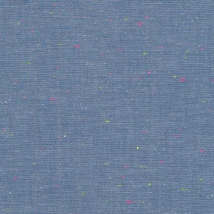 Robert Kaufman Neon Neppy Blue