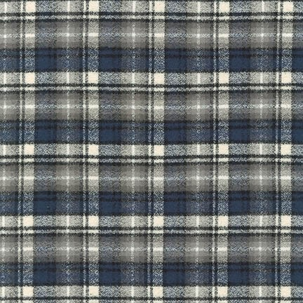 Robert Kaufman Mammoth Flannel Ash