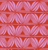 Cotton + Steel Santa Fe by Sarah Watts Pottery Pink Rayon