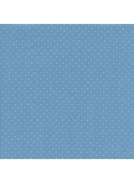 Cotton + Steel Cotton + Steel Add It Up Basics: Bison Blue