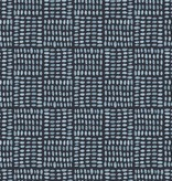 Monaluna Fabric Journey by Monaluna: Birdseed Blue Lawn