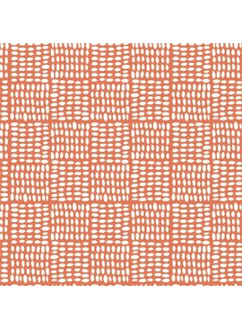 Monaluna Fabric Journey by Monaluna: Birdseed Coral Lawn