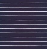 Cloud9 Organic Cotton Knit Stripe - Navy