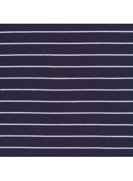 Cloud9 Organic Cotton Knit Stripe - Navy