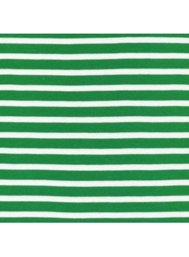 Cloud9 Organic Cotton Knit Colorful Stripe - Green