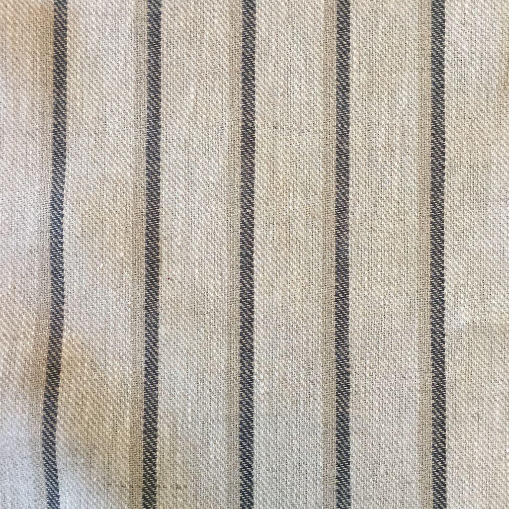 S. Rimmon & Co. Linen Stripe Flax/Grey