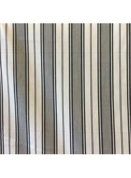 S. Rimmon & Co. Cotton Verigated Stripe Cream/Black