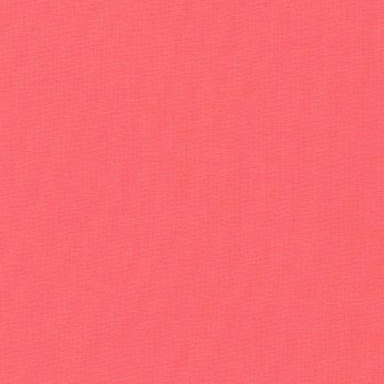 Robert Kaufman Kona Cotton Pink Flamingo COTY 2017