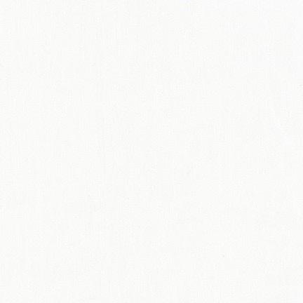 "Robert Kaufman Kona Premium Wide Muslin 118"" Optic White"