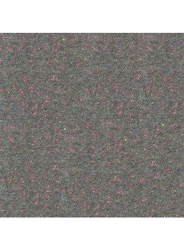 Robert Kaufman Speckle Cotton Jersey Grey