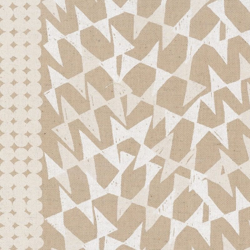 EE Schenck Fabric Caravan Cotton/Linen Canvas: Ibara Natural