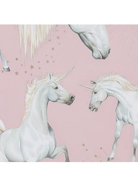 Alexander Henry Stars of the Unicorn Pink