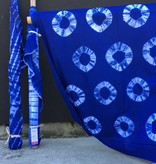 Textile Creations Wind Cave Shibori Circles
