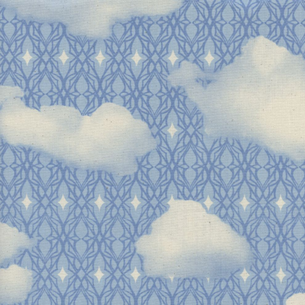 Cotton + Steel Freshly Picked by Cotton + Steel Sky Blue