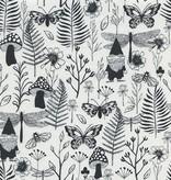 Cotton + Steel Front Yard by Sarah Watts Garden Black