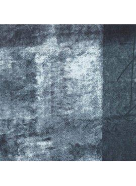 Kokka Nani Iro Linen Sheeting: Pipple Charcoal/Cream