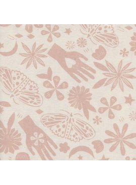 Cotton + Steel Moonrise by Cotton + Steel Dream Pink