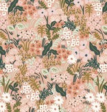 Cotton + Steel English Garden by Cotton + Steel/Rifle Paper Co. Meadow Pink