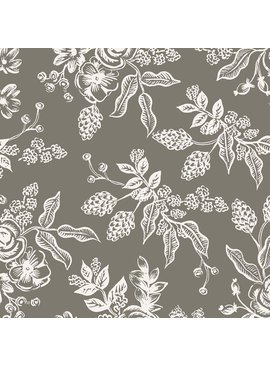 Cotton + Steel English Garden by Cotton + Steel/Rifle Paper Co. Toile Gray