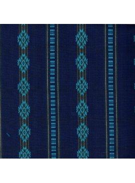 Textile Creations Durango Dobby Navy Teal