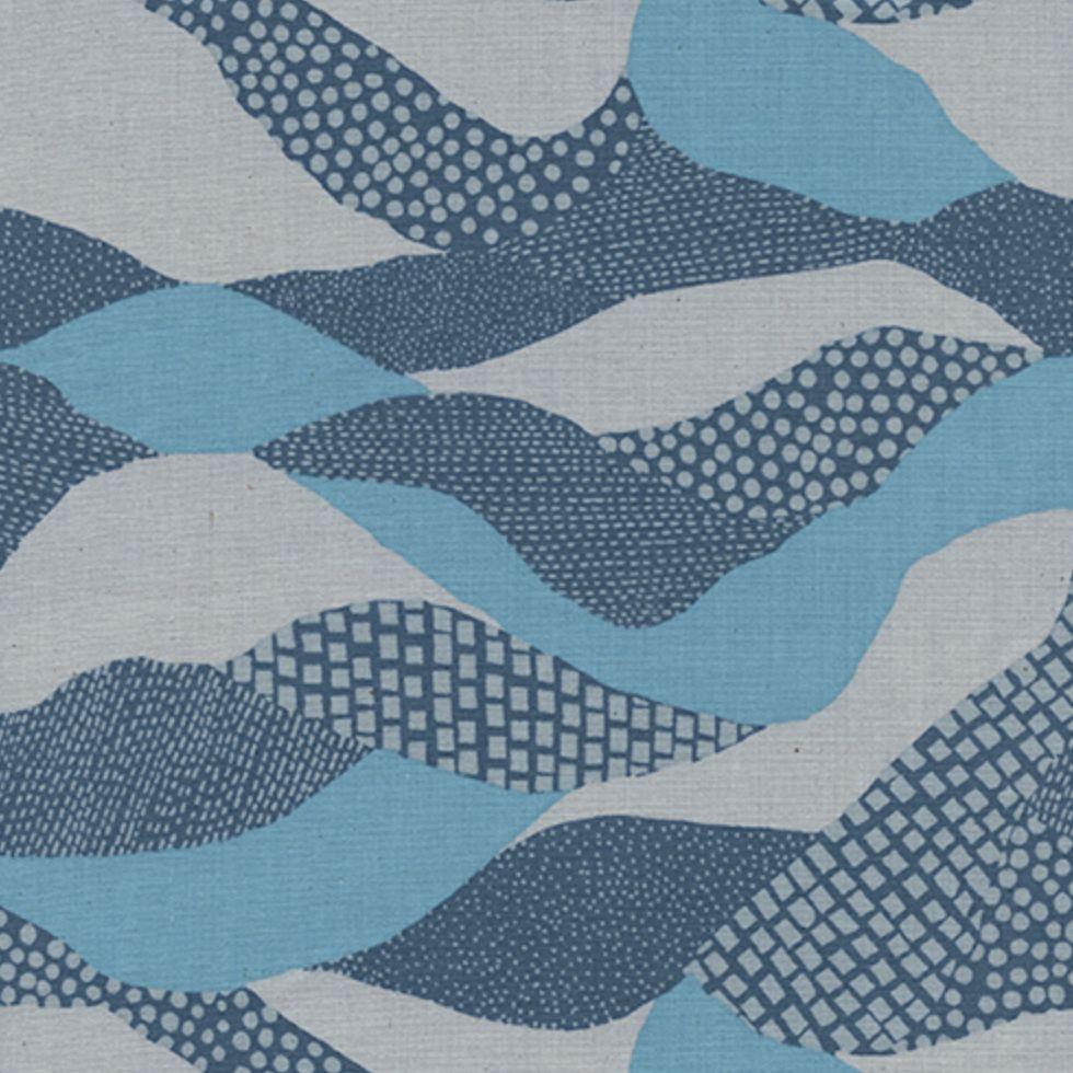 Cotton + Steel Imagined Landscapes by Jen Hewett Lands Ends Moonlight
