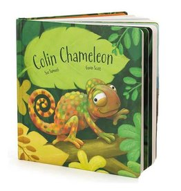 Jellycat jellycat colin chameleon hardback book