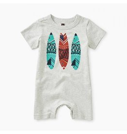 Tea Collection tea collection fish stick graphic romper