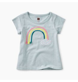 Tea Collection tea collection 3D rainbow baby graphic tee