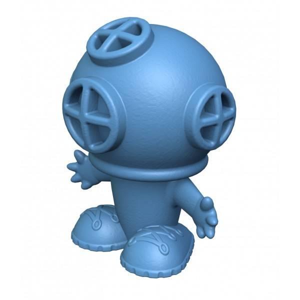 Begin Again begin again bathtub pals - blue diver