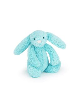 Jellycat jellycat bashful aqua bunny - small
