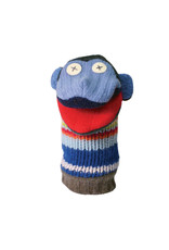 Cate & Levi cate & levi wool animal puppet - monkey