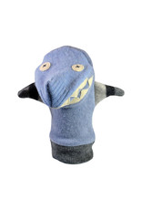 Cate & Levi cate & levi wool animal puppet - shark