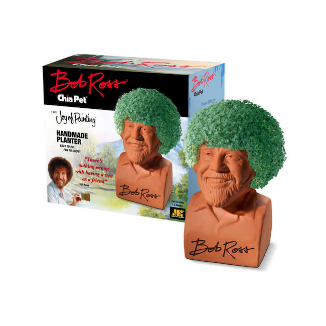 Chia chia pet the joy of painting - bob ross