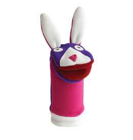 Cate & Levi cate & levi softy fleece puppet - bunny