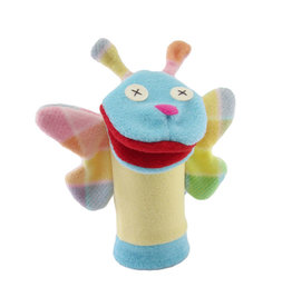 Cate & Levi cate & levi softy fleece puppet - butterfly
