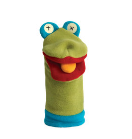 Cate & Levi cate & levi softy fleece puppet - frog