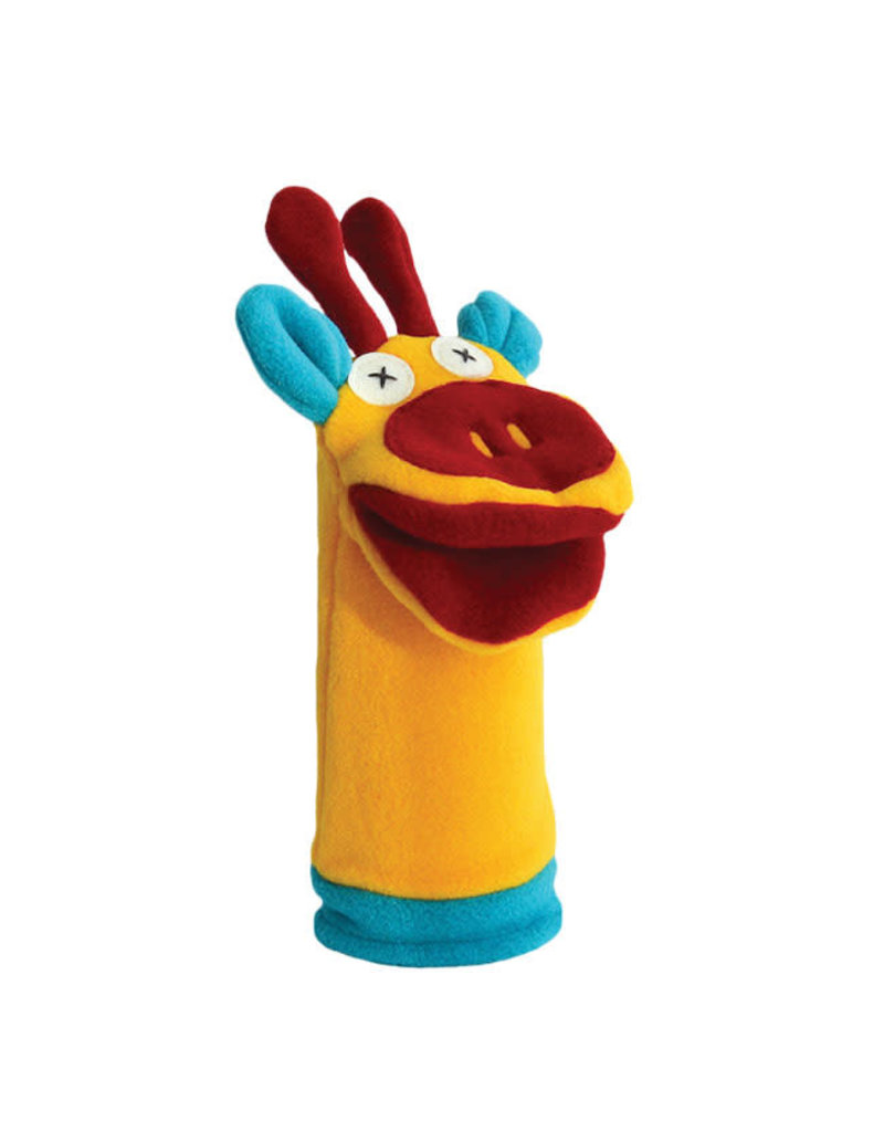 Cate & Levi cate & levi softy fleece puppet - giraffe