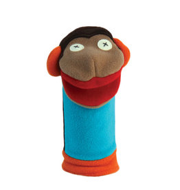 Cate & Levi cate & levi softy fleece puppet - monkey