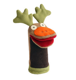 Cate & Levi cate & levi softy fleece puppet - moose