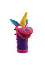 Cate & Levi cate & levi softy fleece puppet - unicorn