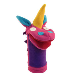 Cate & Levi cate & levi softy fleece puppet - unicorn