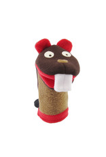 Cate & Levi cate & levi softy fleece puppet - hungry beaver