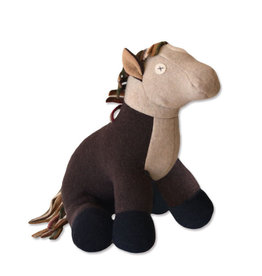 Cate & Levi cate & levi wool stuffed animal - horse