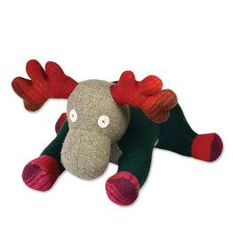 Cate & Levi cate & levi wool stuffed animal - moose