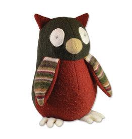 Cate & Levi cate & levi wool stuffed animal - owl