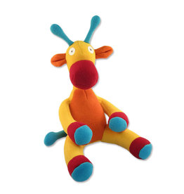 Cate & Levi cate & levi softy fleece stuffed animal - giraffe