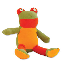 Cate & Levi cate & levi softy fleece stuffed animal - frog