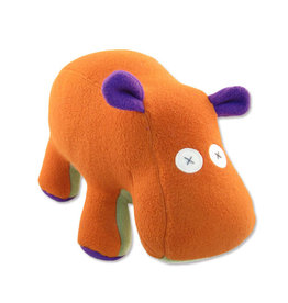 Cate & Levi cate & levi softy fleece stuffed animal - hippo