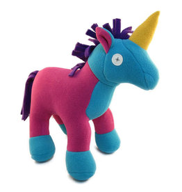 Cate & Levi cate & levi softy fleece stuffed animal - unicorn